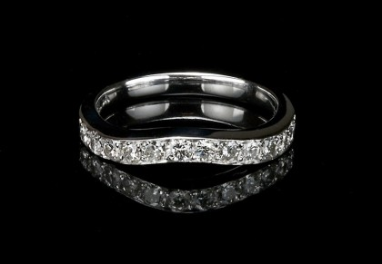 Wedding Band Soft Curve