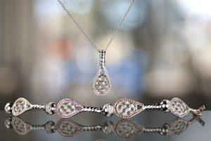Tennis Bracelet & Pendant